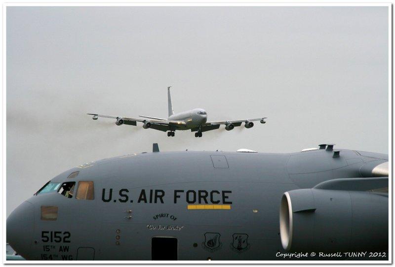 RAAF 707 on Approach