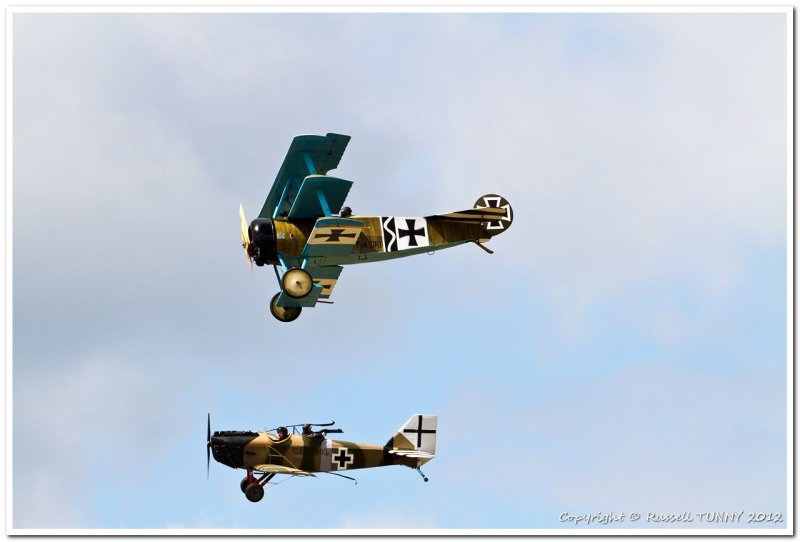 A pair of Fokkers