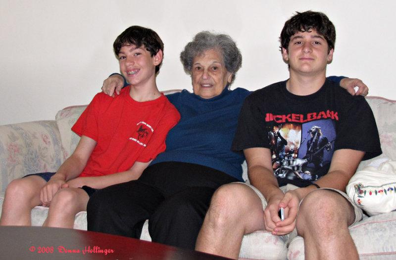 JonCarlo, Dora and Dom