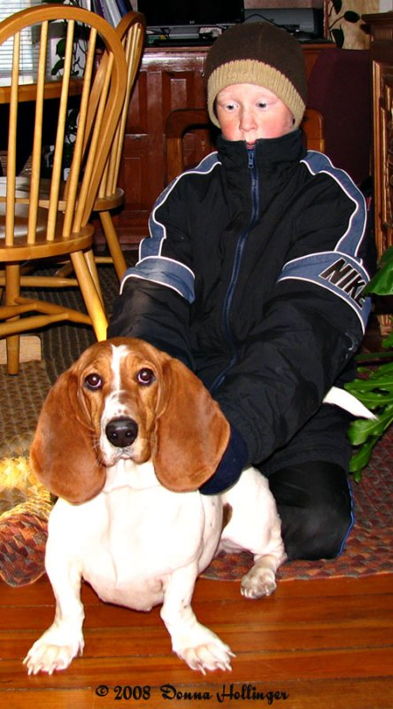 A Boy and his Basset