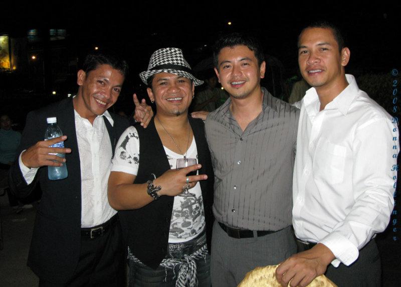 Sethi, Tony, Victor and Sophi