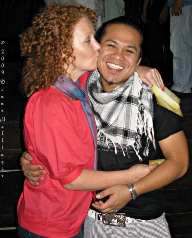 Guess Whos Kissing Tony