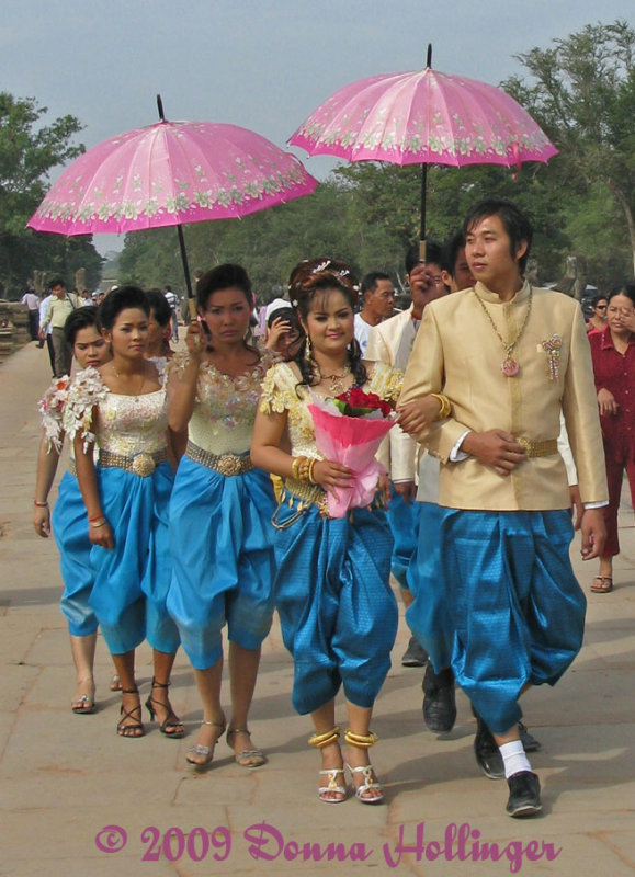 Wedding Party in Traditional Garb