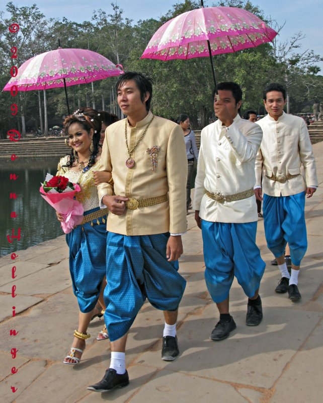 Traditional Wedding Party