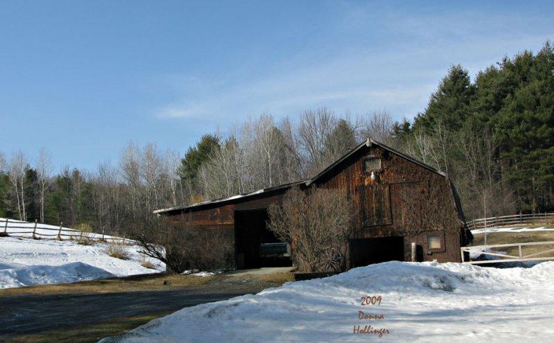 Barn on New Boston Road