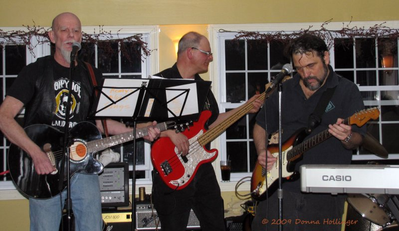 David Small, Joe Lemanski and Henri Nigro, Last night at Mulligans