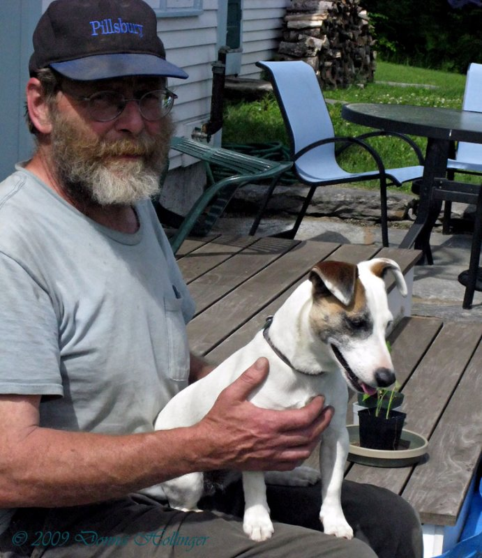 Jack Russell and Steve