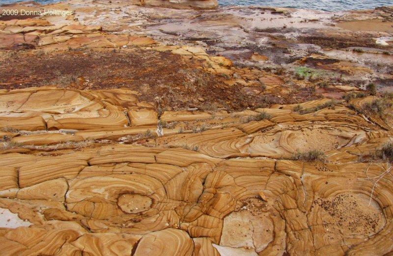 Tesselated Pattern of Sandstone