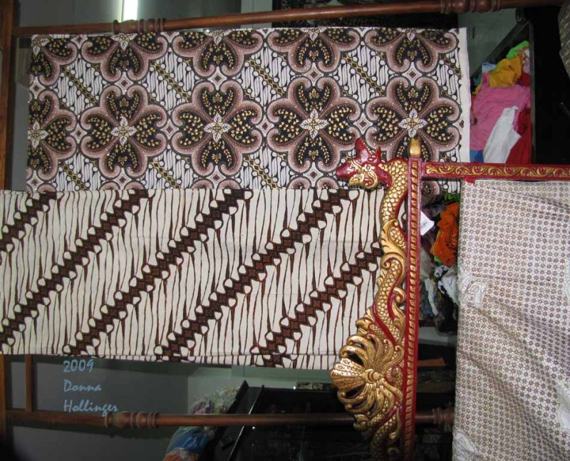 Batik Cloths at Mirota