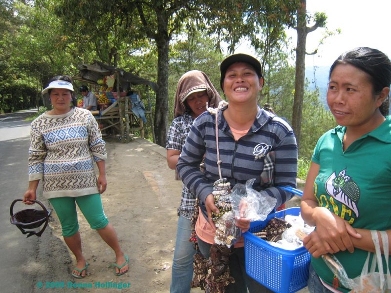 Women Vending Near Mount Batur