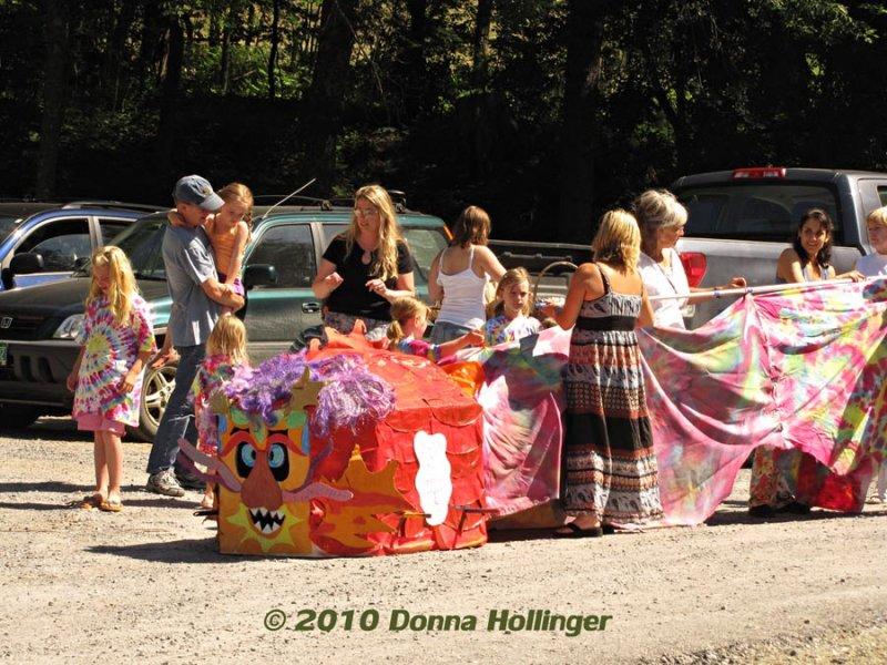 Dragon in Parade