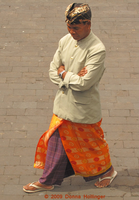 All Dressed Up for a Temple Celebration
