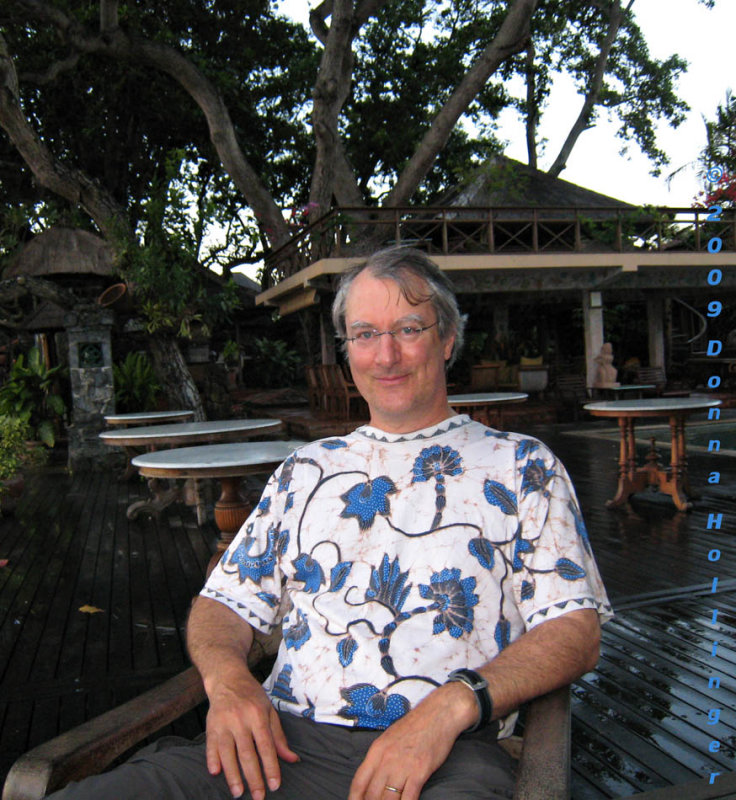 Peter at Tandjung Sari
