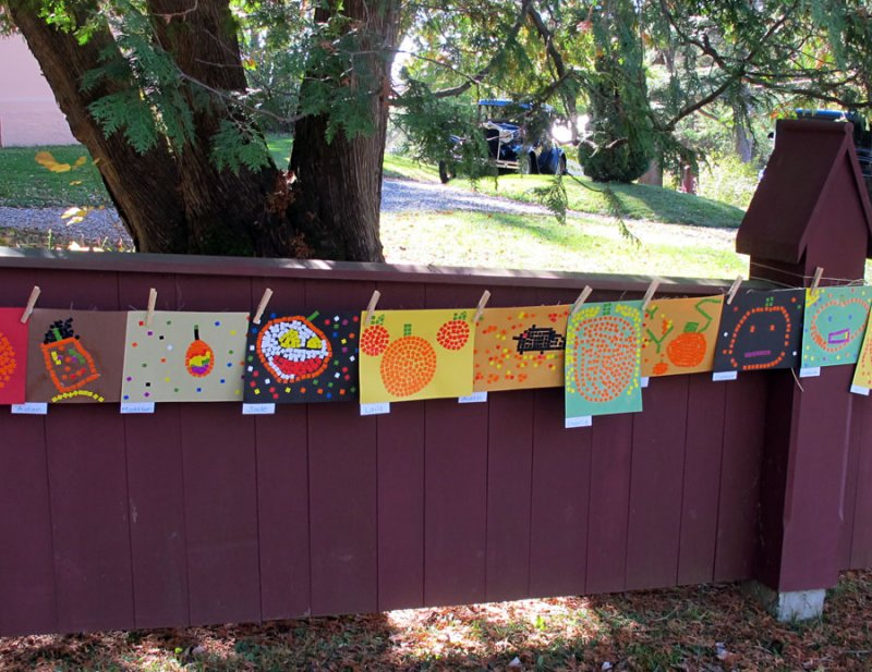 Newton School Art for Apple Fest