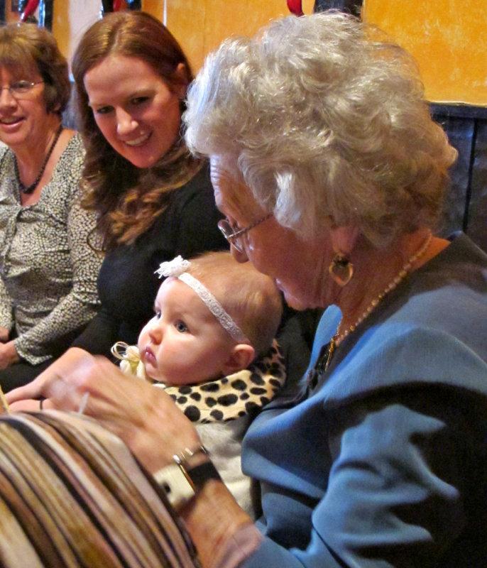 Ellas Mom, Ella, and Great Granny
