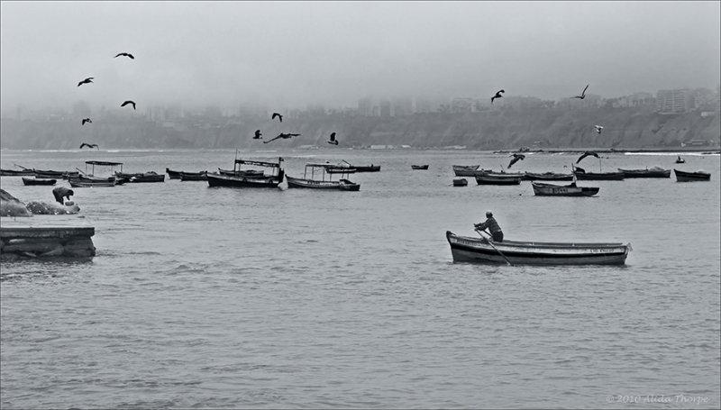 Lima Peru boats #2