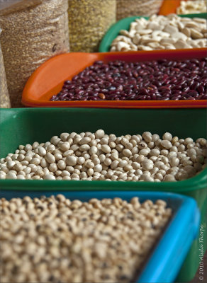 Lima market beans
