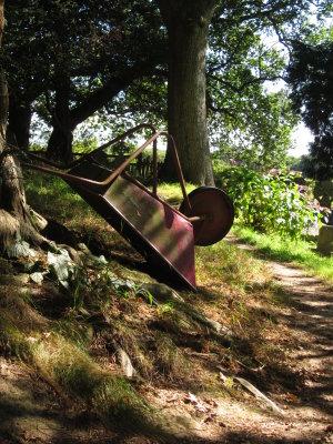 The  old  wheelbarrow