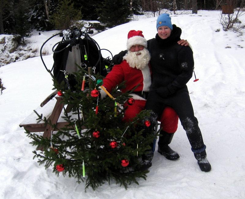 Monica & Santa!