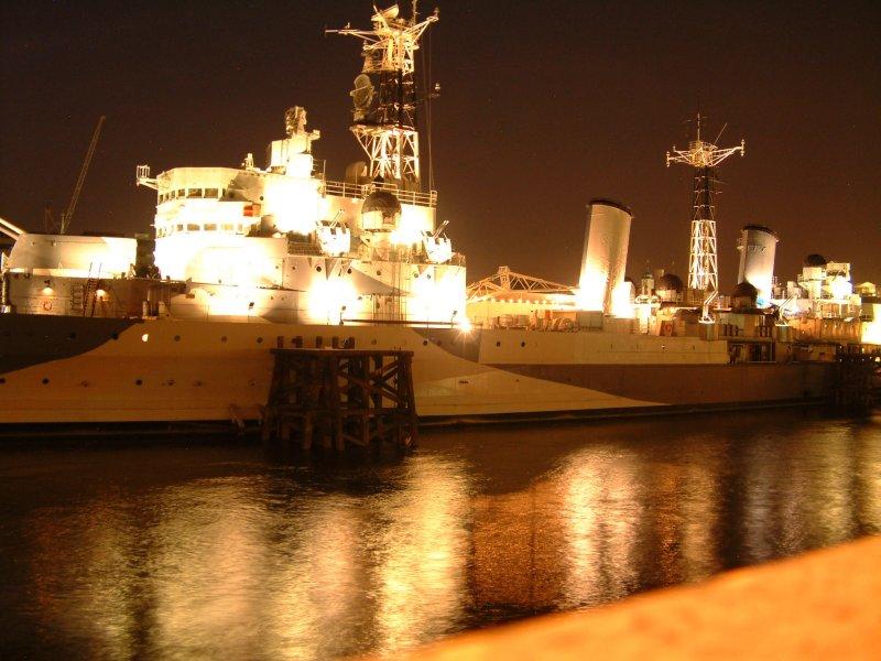 HMS Belfast Lit