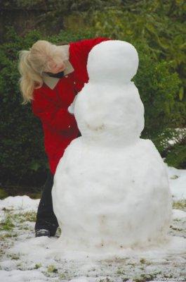 Carol's snowman