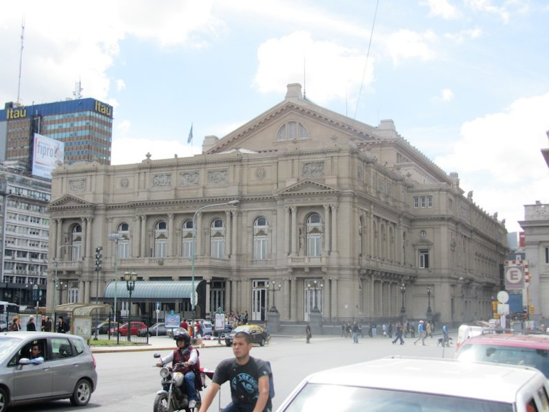 the Teatro Colon