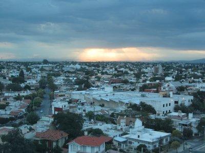 sunset on Cordoba...