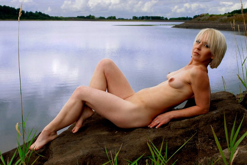 Lounging on rock 02