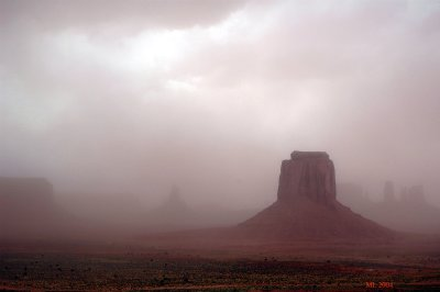 Monument Valley (Wind and sand)