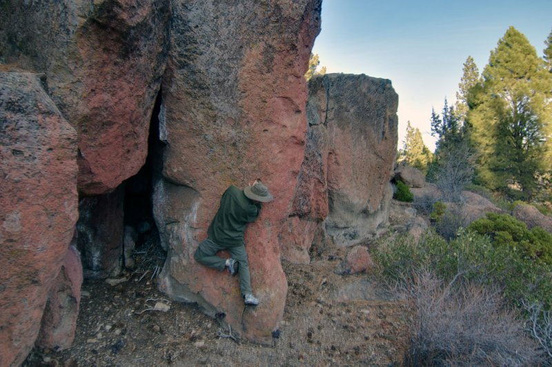 river trail bouldering