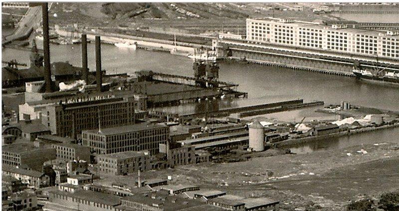 Walworth Building 1950s - South Boston