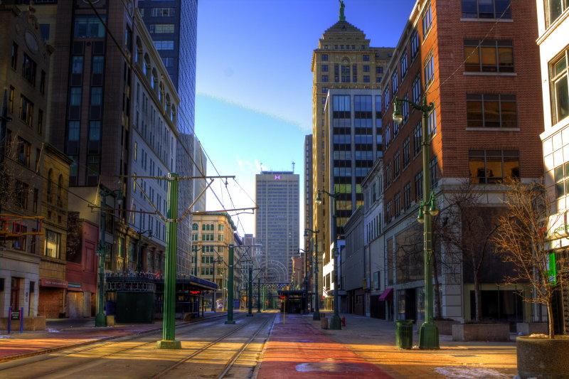 Main Street In February