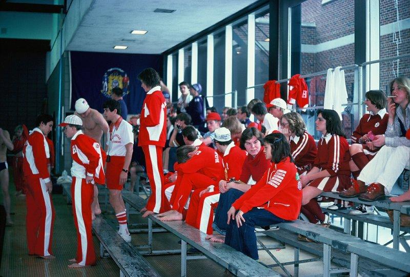 Swim Meet 1976-77
