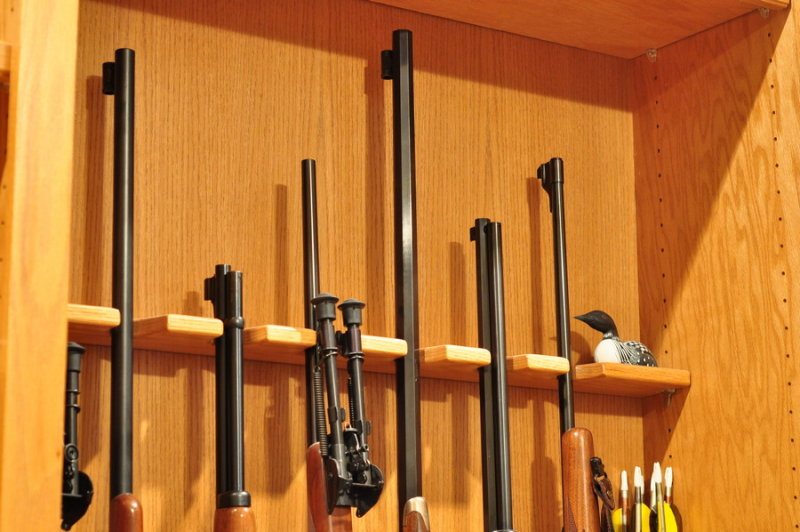 Any one ever build your own rifle rack? - AR15.COM