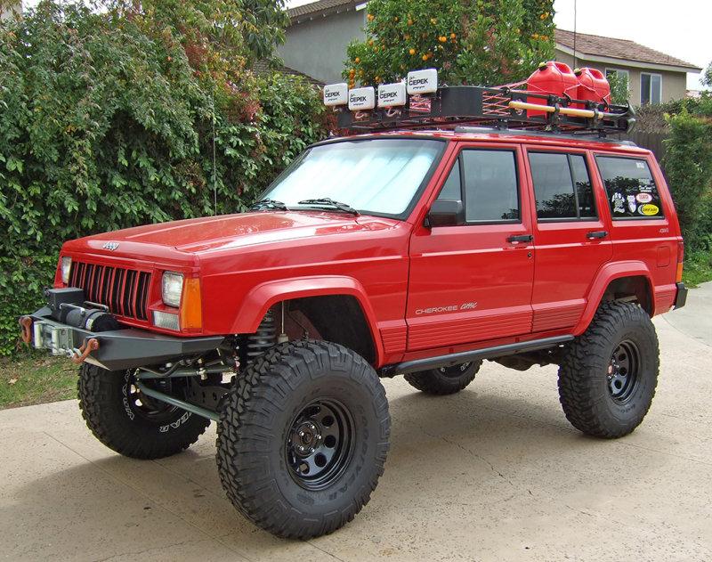 93285409 Cloudswimmer's 1:1 96 Jeep XJ