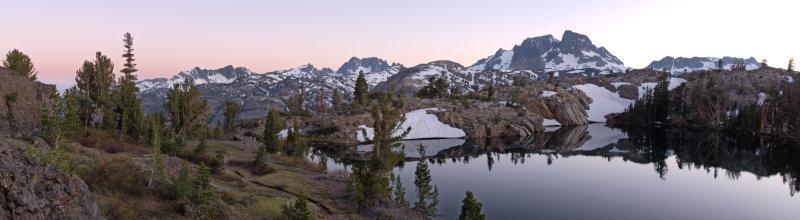 Summit Lake Panorama