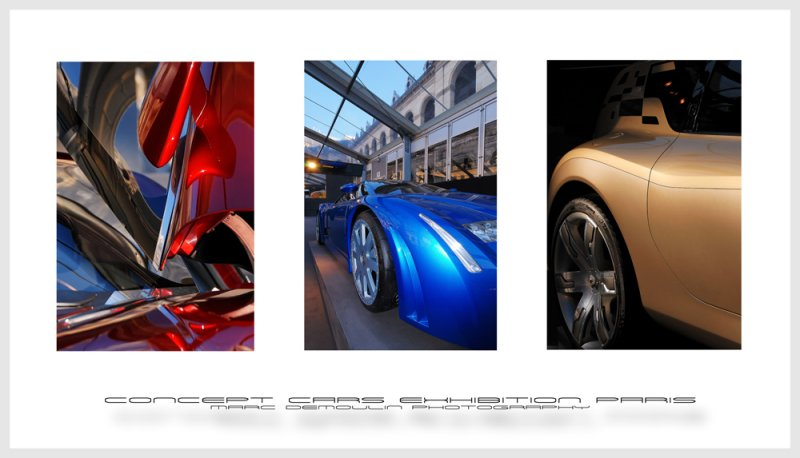Concept cars exhibition Paris 2008