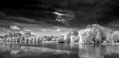 Canal & Arboretum 13134 (faux IR)