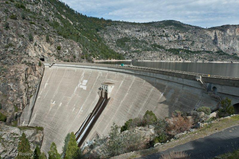 Hetch Hetchy Reservoir and OShaughnessy Dam
