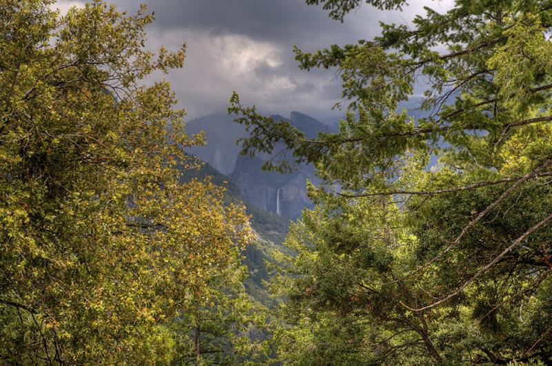 Bridalveil Falls View