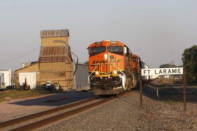 BNSF 5984W Ft Laramie, Wy