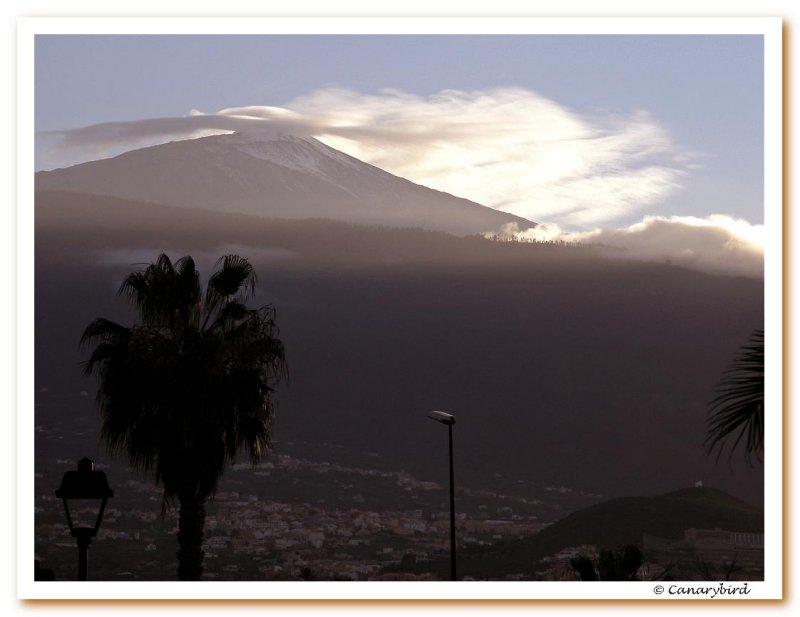 Teide at dusk 1