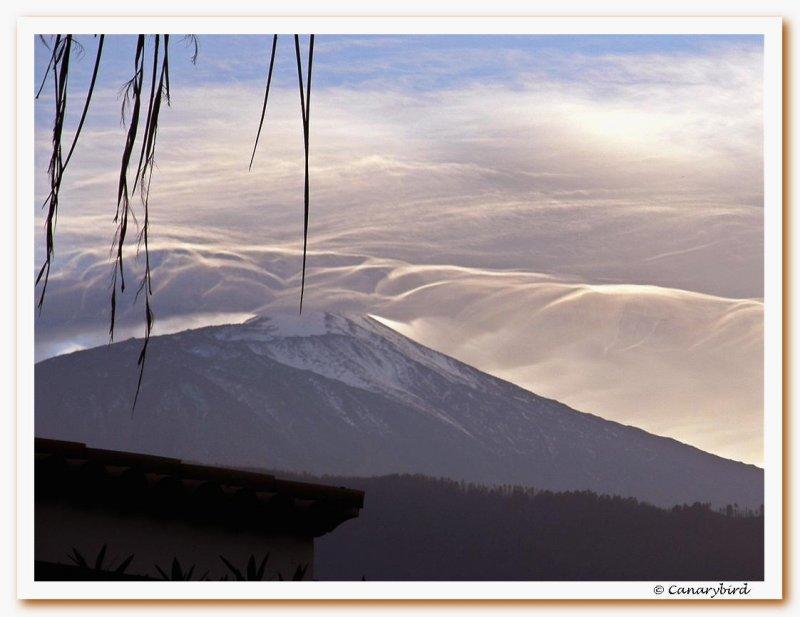 Teide at dusk 2