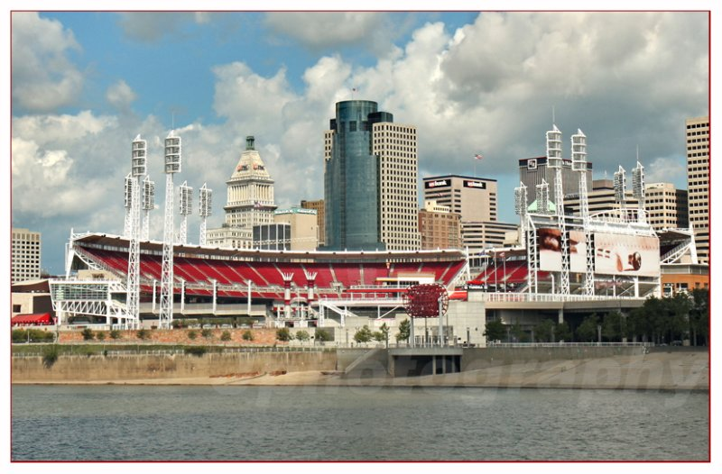 Great American Ball Park<br>Home of the Cincinnati Reds