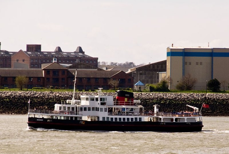 Mersey ferry Snowdrop  in Liverpool on 4 April 2009