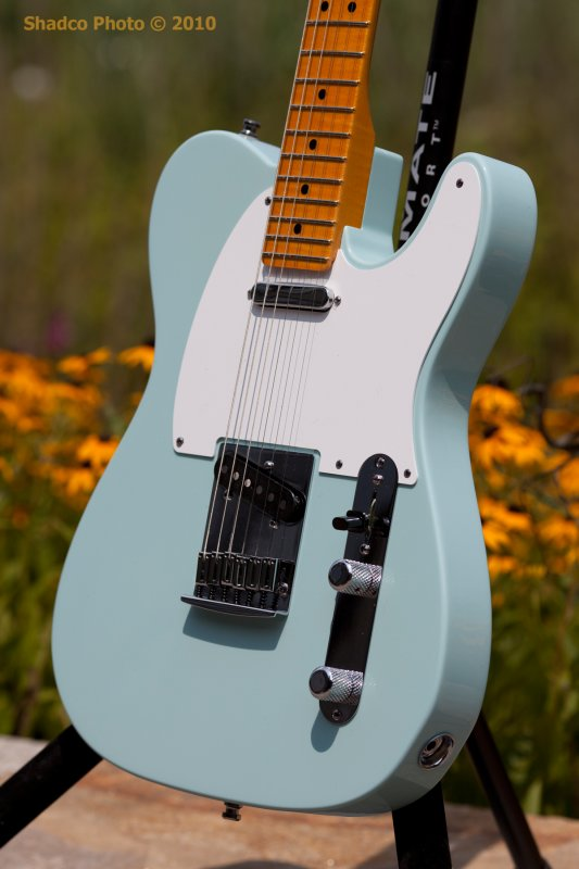 sonic blue tele the gear page. Black Bedroom Furniture Sets. Home Design Ideas