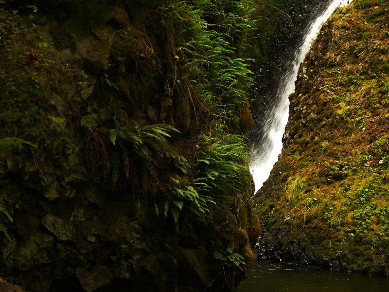 Bridal Veil Falls, Columbia River Gorge, Oregon, 2008