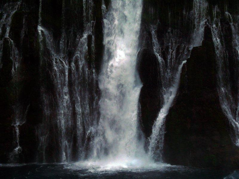 Burney Falls, McArthur-Burney Falls Memorial State Park, California, 2008