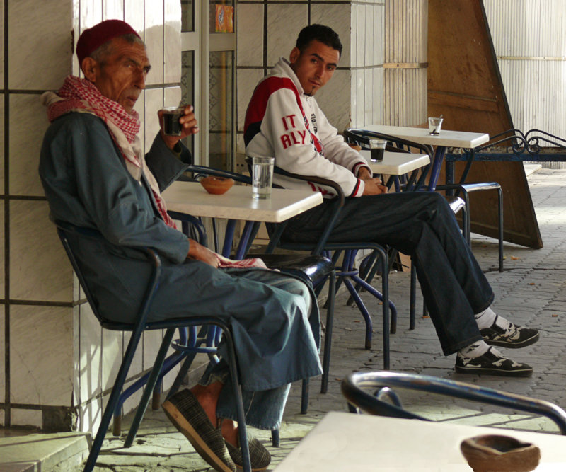 Age and youth, Sousse, Tunisia, 2008