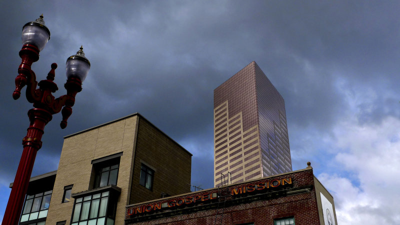 Contrasts, Portland, Oregon, 2009